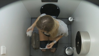Spy czech toilet